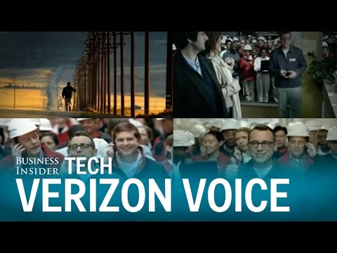 The voice of Verizon today