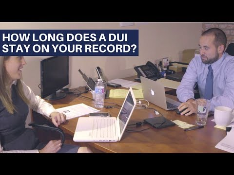 How Long Does a DUI Stay on Your Driving Record? | Washington DUI Lawyers