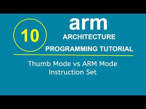 ARM Programming Tutorial 10- Thumb Mode vs ARM Mode Instruction Set