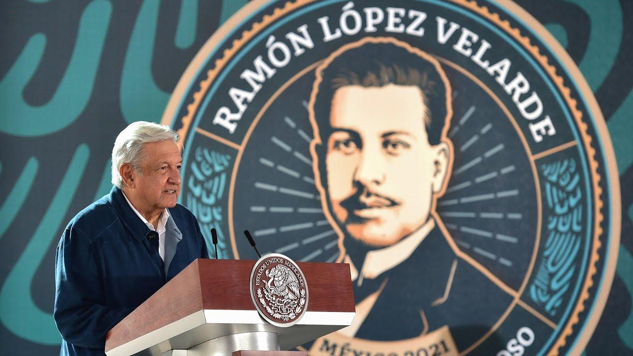 100 Aniversario Luctuoso de Ramón López Velarde, desde Jerez, Zacatecas