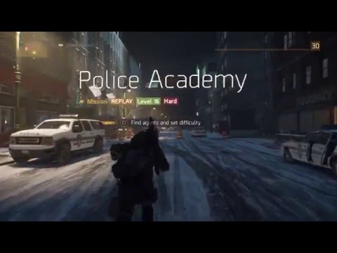 Police Academy Glitch Final - The Division [Patched]