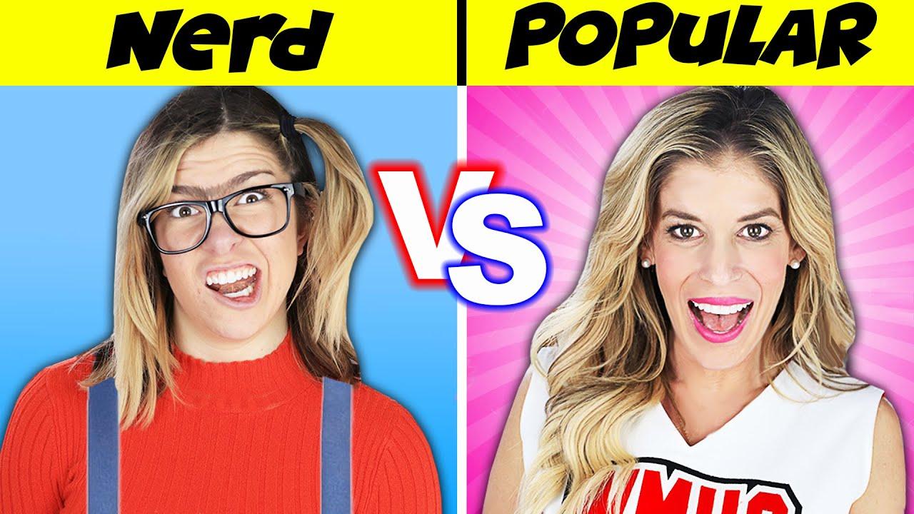 How to WIN a DATE! Nerd Vs Popular Girl Challenge to Reveal Rebecca's Secret