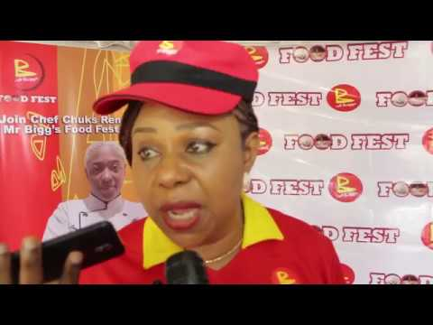 Mr Biggs Food Fest 2018 Lagos | Joan Ihekwaba - Managing Executive | Exhibitorslive