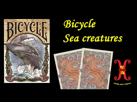 Bicycle Sea Creatures Playing Card Review