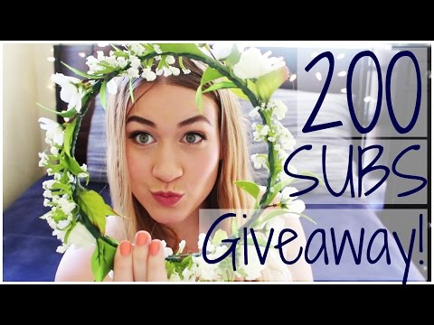 How To Style Flower Crowns | GIVEAWAY!