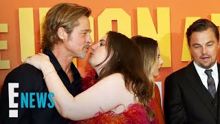 "Lena Dunham Addresses ""Awkward"" Kiss With Brad Pitt | E! News"