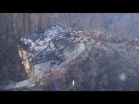 Gatlinburg Sky Lift Damaged in Wildfires