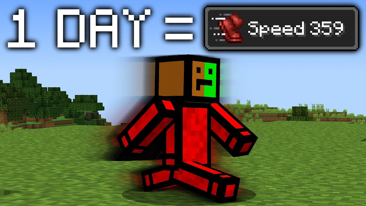 Minecraft, But The Speed Increases...