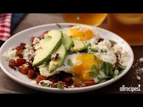 How to Make Greek Cowboy Hash and Eggs | Breakfast Recipes | Allrecipes.com