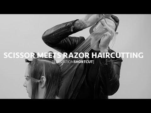 Scissor Meets Razor Creating a Long Layered Haircut | Education Shortcut #003