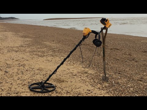 Beach detecting for 1 hour EVERYDAY using Ace 250, Nel coil and nokta pinpointer • day #1• ✓ ©️180FH