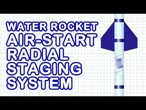 Water Rocket Staging Mechanism Design