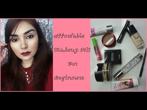 Makeup kit for beginners | Affordable makeup kit in urdu/hindi