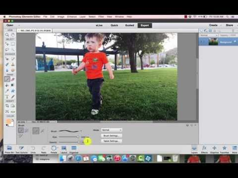 How to load Brush Files in Photoshop Elements 13