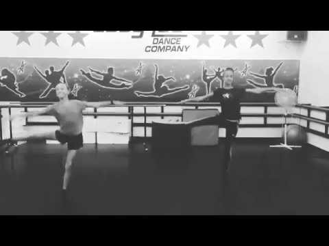 Kaeli Ware Turns With Maddie Ziegler At The Abby Lee Dance Co.