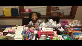 Six-year-old girl gives up birthday party to feed homeless