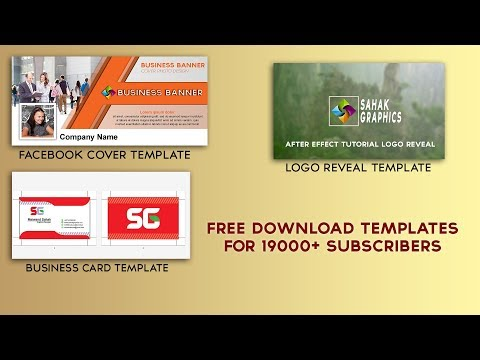 Free Download After Effects Template Logo Reveal ( Subscribers Gift )