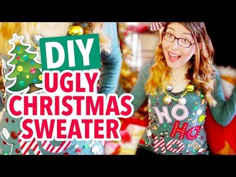DIY Ugly Christmas Sweater - HGTV Handmade
