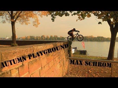 Extreme MTB Stunts - AUTUMN Playground - Trials
