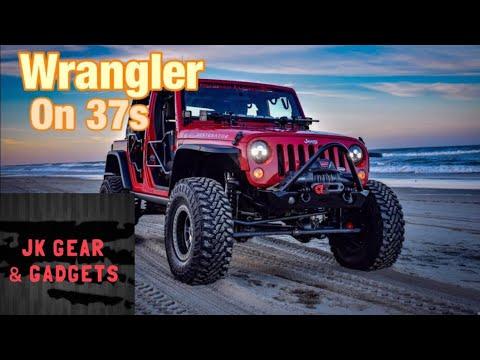 Jeep on 37s |  Walkaround | Mods