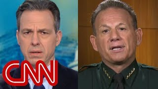 Tapper grills Sheriff Israel over school shooting response