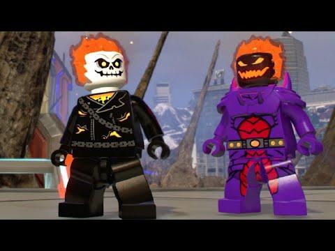 LEGO Marvel Super Heroes 2 - Ghost Rider Unlock + Free Roam Gameplay