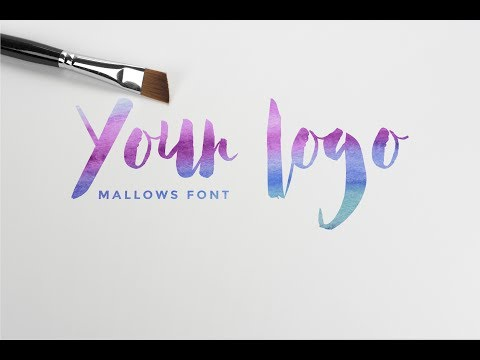 Create Your Own Custom Watercolor Logo