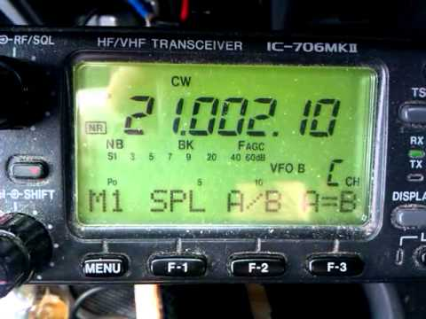 RI1ANF South Shetland Islands audible in my car on 15m CW