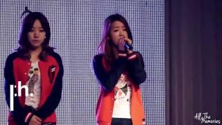 APink Bomi covering Eunji's parts (윤보미)