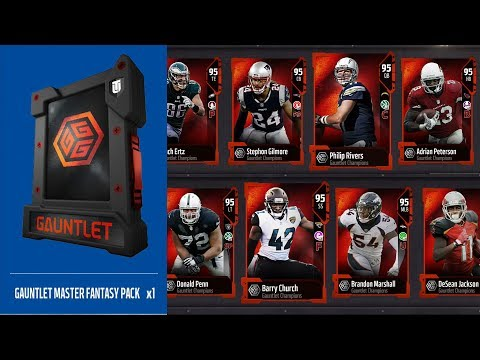 Gauntlet Master Complete | Free 95 Ovr Player For Playing Solo Challenges | Madden 18 Ultimate Team