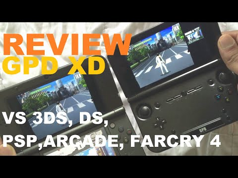 GPD XD REVIEW: Do what Nintendont!?.(psp,arcade, farcry4,Ds tests)