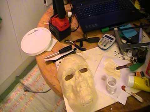 skull mask tutorial