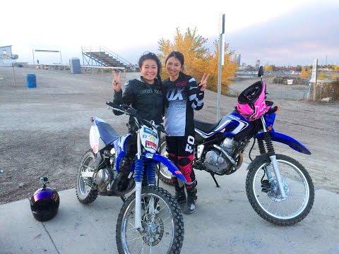 My First Time Riding a Dirt Bike! Yamaha TTR125, Getting my Braaaap On