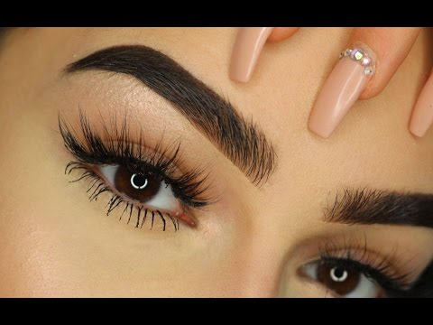 THICK Eyebrows Tutorial I Aylin Melisa