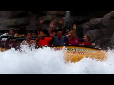 Islands of Adventure Water Rides: How wet will you get?