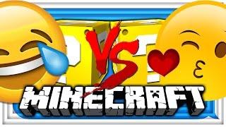 Minecraft: 😬EMOJI LUCKY BLOCK 😂CHALLENGE | EMOTE BATTLE! 😁