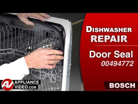 Bosch Dishwasher - Door Seal repair