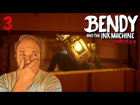 NO ESCAPE! -- Bendy and the Ink Machine Chapter 4 (Part Three)