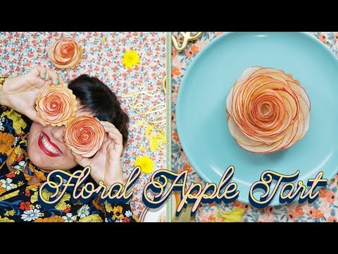 Raiza Makes Gorgeous Flower-Shaped Apple Tarts | Food Network