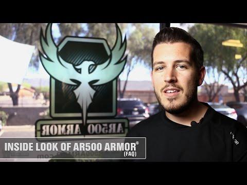 Inside look of AR500 Armor® - FAQs