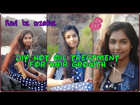 DIY Hot oil treatment for hair growth | How to tame frizzy hair | India