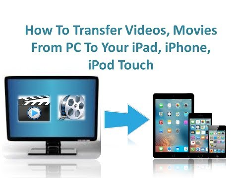 How To Transfer Videos, Movies From PC To iPad, iPhone & iPod