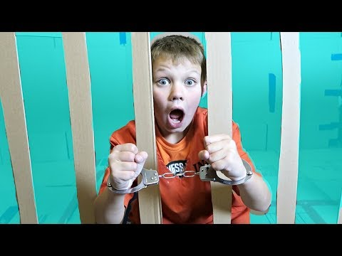 BOX FORT PRISON!! | ESCAPING FROM JAIL!