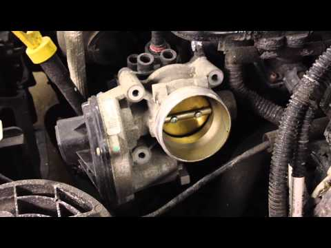 Ford Focus & Transit Connect P1235 Electronic Throttle Body Replace