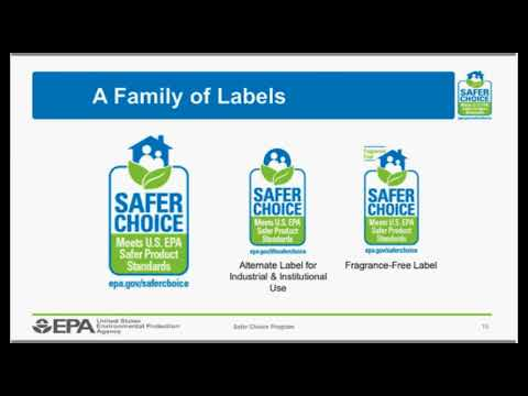 Safer Choice Webinar: Better Options for Organizational Purchasing