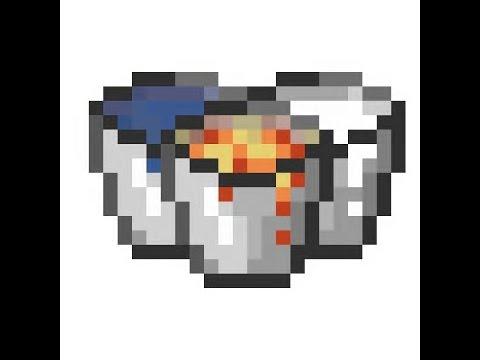 Minecraft How To Build:Bucket of milk