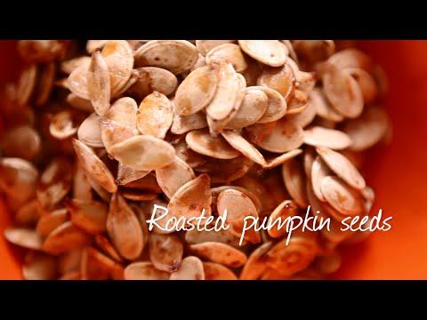 How to roast pumpkin seeds | Video recipe