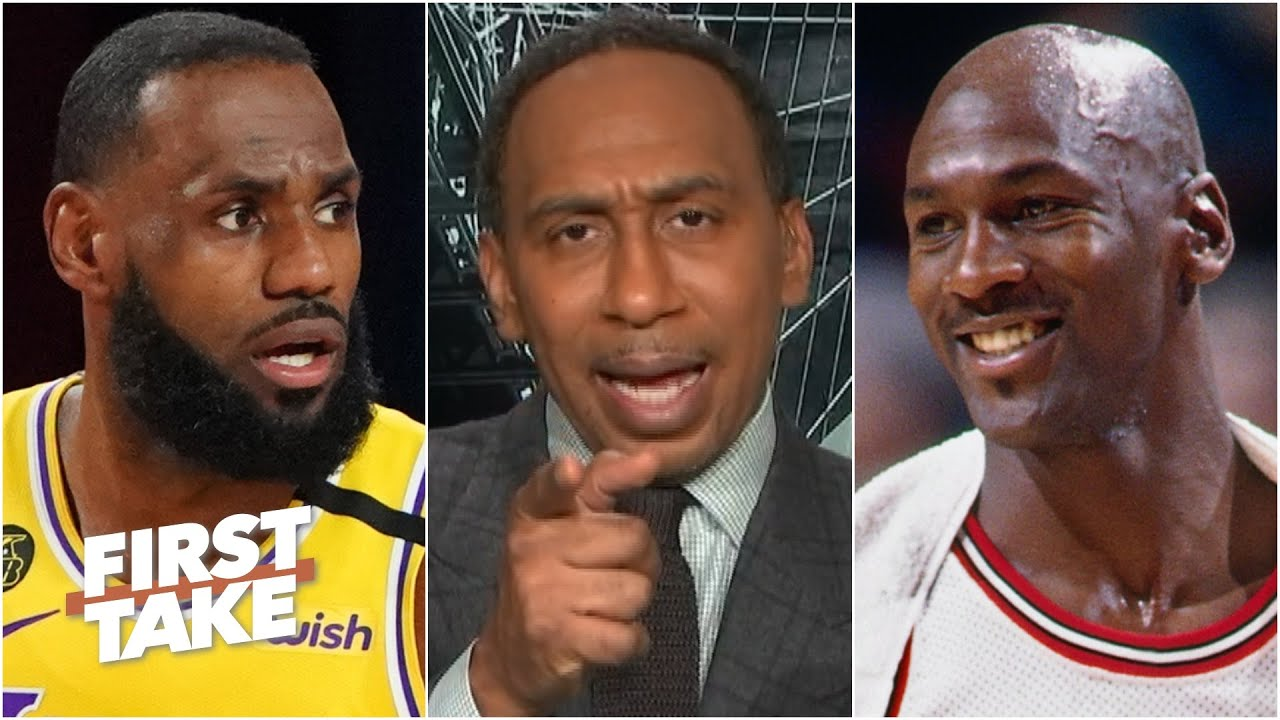 'I would want Michael Jordan every day' over LeBron - Stephen A. on the NBA GOAT debate | First Take