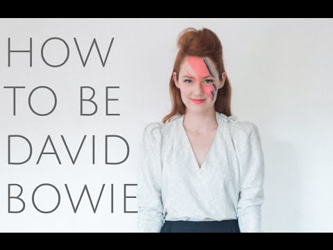 How To be David Bowie for Halloween (Costume DIY)