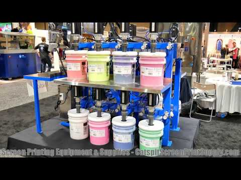 ISS Screen Printing Show: Image Technologies Pneumatic Plastisol Ink Mixing System